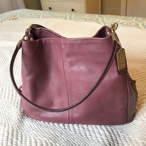 Coach Leather Madison Phoebe Bag- Like New!